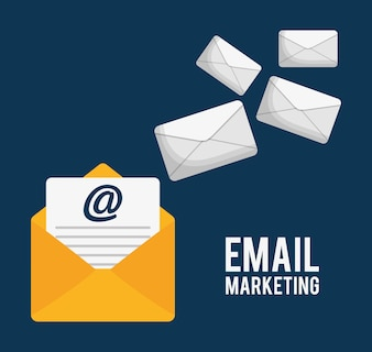 Envelope email marketing send icon