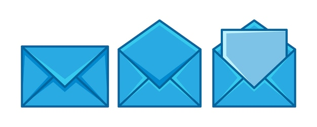 封筒メールセット