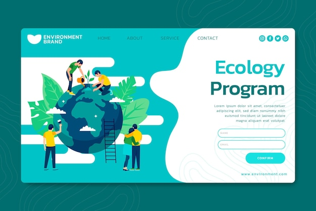 Environment environment landing page