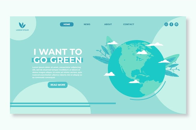 Environment environment landing page