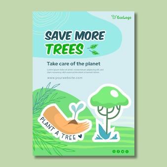 Environment flyer vertical template