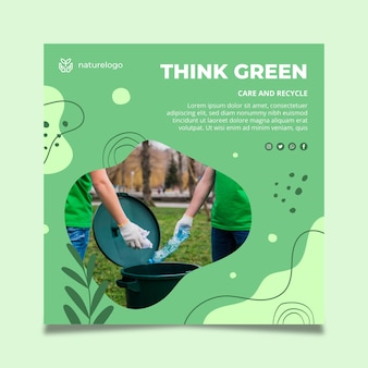 Environment squared flyer