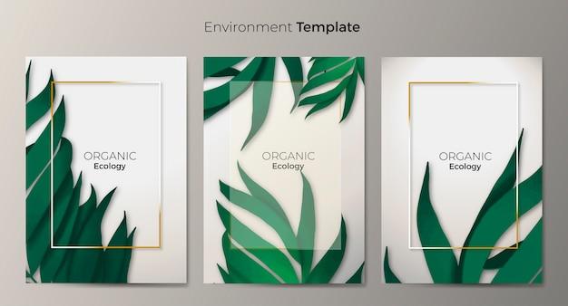 Environment template set
