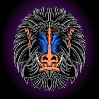 Epic monkey head