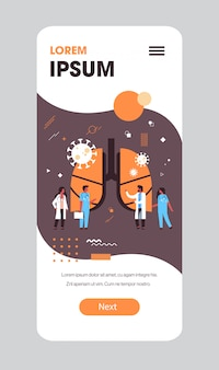 Эпидемия mers-cov бактерии плавающие клетки вируса гриппа врачи, анализирующие травмированные легкие человека уханьский коронавирус 2019-нков пандемия медицинский риск для здоровья полная длина мобильное приложение копирование пространство