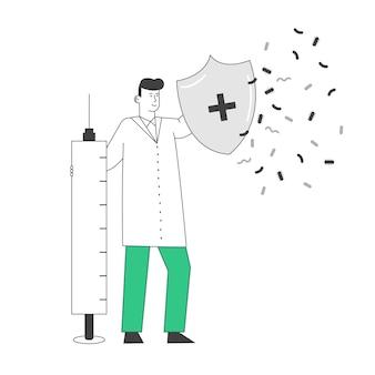 Концепция эпидемиологии и вакцинации.