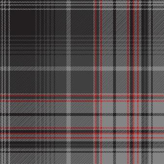 スコットランドシルバータータン斜めテクスチャのシームレスなパターン。ベクトルイラスト。 eps 10.透明性なし。グラデーションなし。