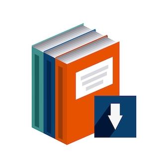 Скачать дизайн электронной книги, векторная графика eps10 graphic