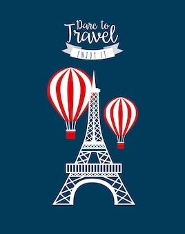 旅行コンセプトデザイン、ベクトルイラストeps10グラフィック
