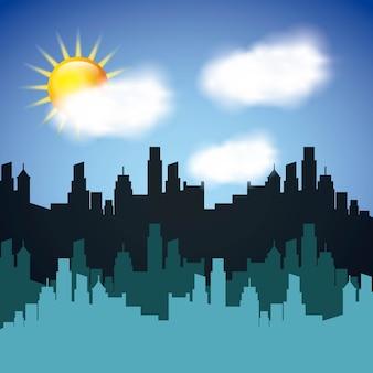 気象条件デザイン、ベクトルイラストeps10グラフィック