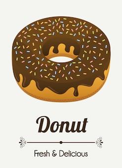 Дизайн этикетки пекарни, векторная иллюстрация eps10 графика