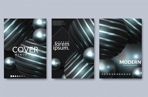 エレガントな背景デザインのセット。カラフルなグラデーション、黄金、カード、背景、カバー、eps10ベクトル。黒と金色のテクスチャ
