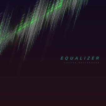 Equalizer lights background