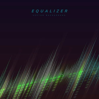 Equalizer lights background