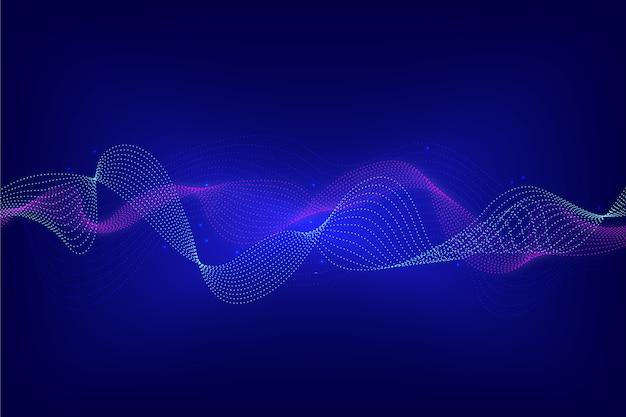 Equalizer wave background