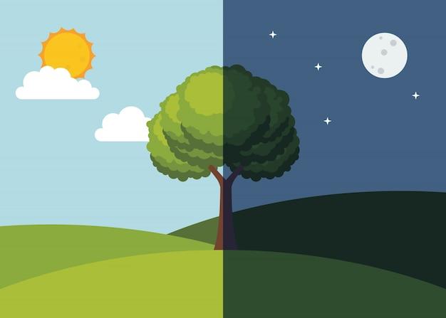 Equinox illustration