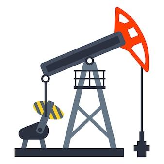 땅에서 기름을 펌핑하는 장비