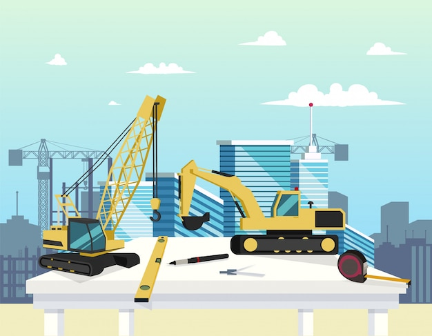 Equipment work site