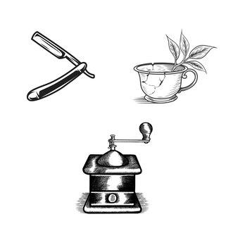 Equipments design vector