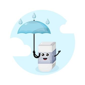 Ластик дождь зонт