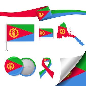 Raccolta di elementi rappresentativi di eritrea