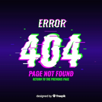 Error 404 background
