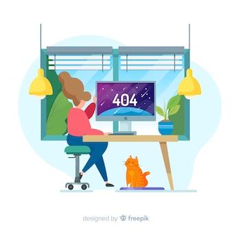 Концепция ошибки 404 для целевой страницы