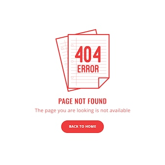 Error 404 page not found