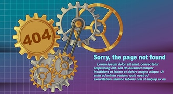 Error 404 sorry, page not found.