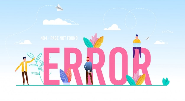 Error word capital letters and tiny people users