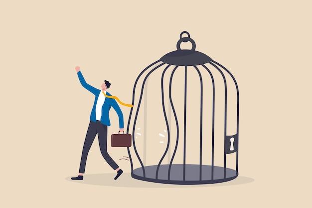 Выйдите из привычной зоны комфорта, изменитесь, чтобы испытать новый вызов или вырваться на свободу.