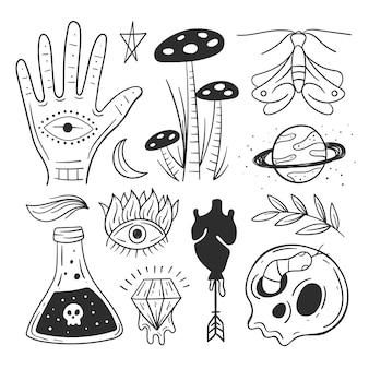 Esoteric elements set