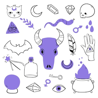 Esoteric mystical elements