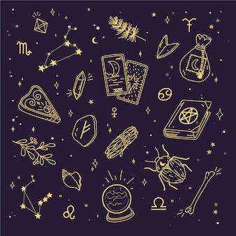 Эзотерические мистические элементы
