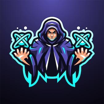 エスパーesportマスコットロゴ