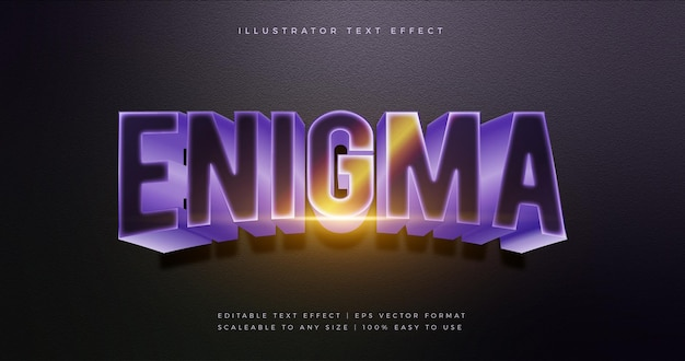 Esport cool 3d theme text font effect