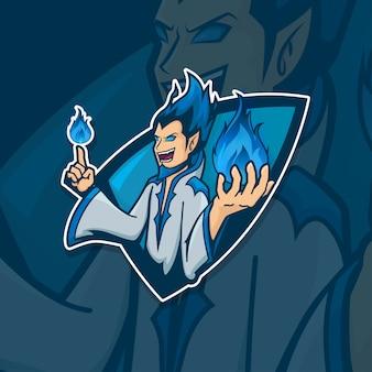 Esport gamer logo wizard