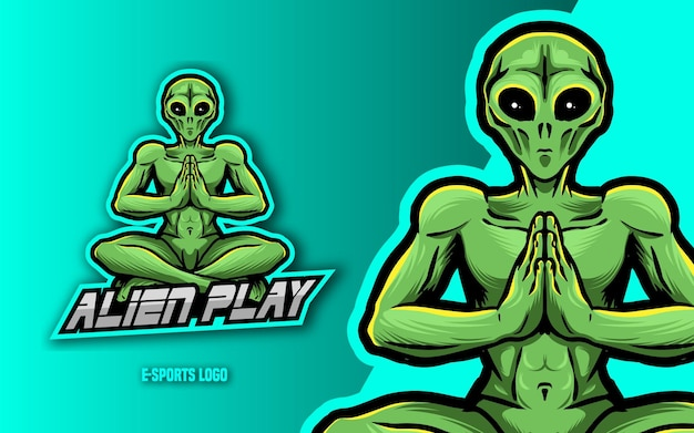 Esport 로고 외계인
