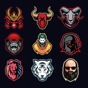 Esport logo bundle