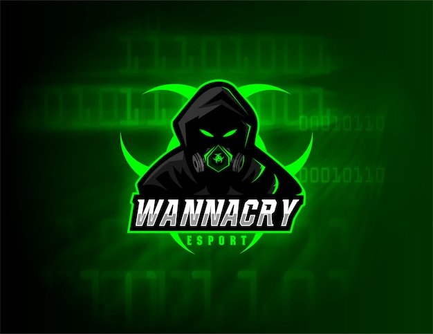 Esport logo design wannacry team