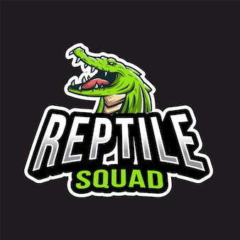 Рептилия esport logo