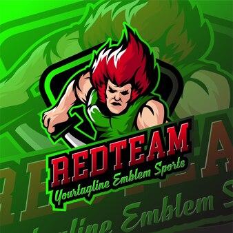Значки логотипа esport shot gaming