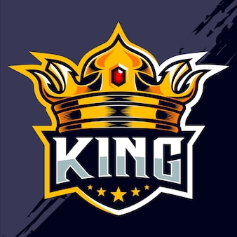 Дизайн логотипа команды esport