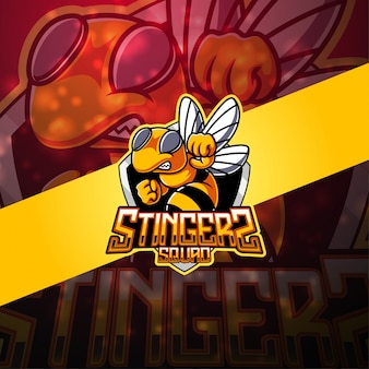 スティンガーesportマスコットロゴ