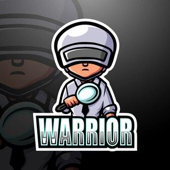 戦士のマスコットesport