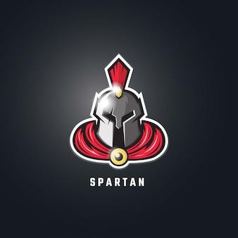 Спартанский логотип esport