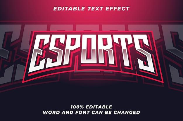 Esportテキストスタイルエフェクト
