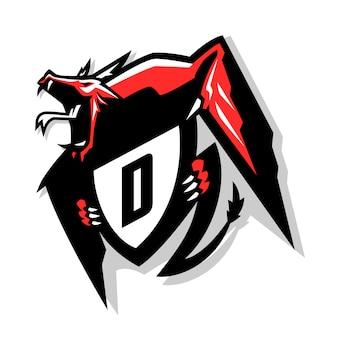 Логотип esports dragon
