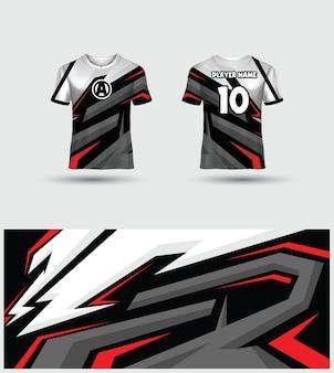 Шаблон джерси футболки esports gaming