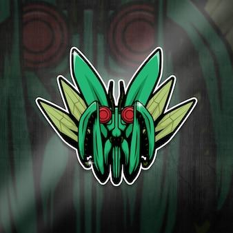 Esports mascot logo team mantis squad